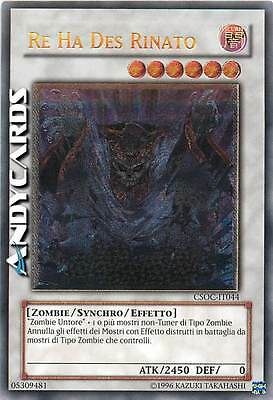 UNLIMITED M/NM ☻ Re Ha Des Rinato ☻ Ultimate ☻ CSOC IT044 ☻ YUGIOH ANDYCARDS