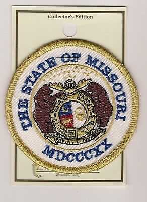 Souvenir Patch - State Of Missouri - State Seal