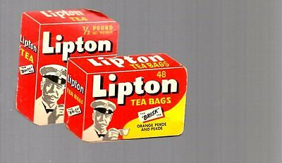 estate find LIPTON TEA PREMIUM Sewing Kit Made/Printed West Germany