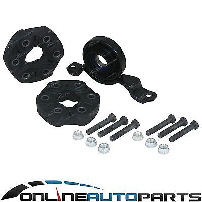 Rubber Tailshaft Couplings + Centre Bearing Commodore VX VY VZ Wagon V6 Auto
