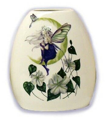 Moon Flower Fairy Small Vase - Jessica Galbreth Fairysite