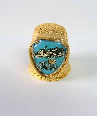 "Vtg. Collectible ""Estate Find"" THIMBLE---M/S SOOTIA PRINCE--  Take @ LOOK!"