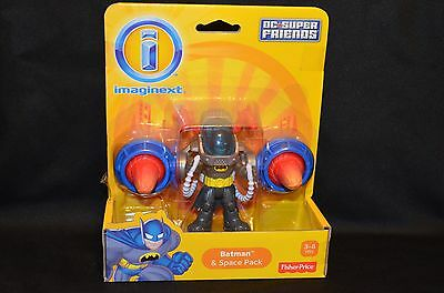 NEW Fisher-Price IMAGINEXT DC SUPER FRIENDS BATMAN & SPACE PACK