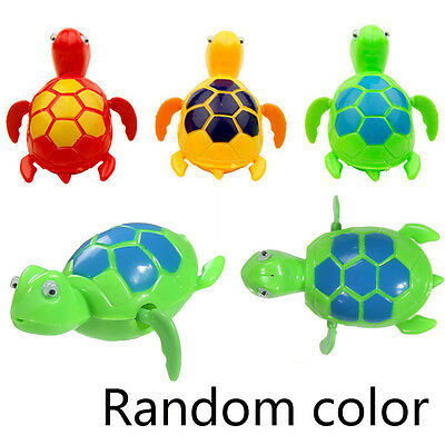 Wind-up Cute Swimming Floating Turtle Toy Wind Up for Baby Kids Bathing Time