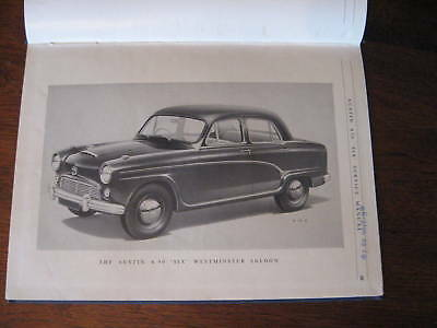 Austin A90 Six Westminster 1956 Official Factory Workshop Manual