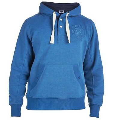 Canterbury Mens Placket Hoody Hoodie Sweat Shirt Rrp £55 Sizes  M L Only 11 Left