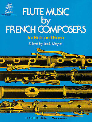 Flute Music by French Composers Flute & Piano Sheet Music G Schirmer Book NEW