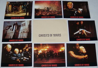 GHOSTS OF MARS John Carpenter Henstridge Ice Cube Statham 8 FRENCH LOBBY CARDs