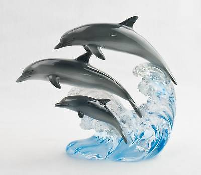 Dolphins Figurine - Suanti Galleries - Collectible Figurine  SALE