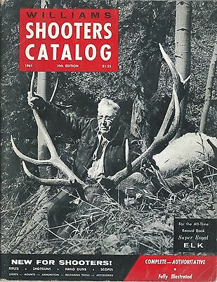 Sporting Goods Catalog - Williams Shooter's Catalog 10 1961 Hunting Elk (SP16)