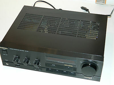 vintage AMPLIFICATEUR TECHNICS SU-X101 STEREO INTEGRATED AMPLIFIER AMP BASS