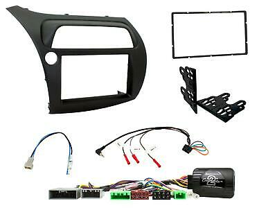 Panel radio monitor Double 2 Din HONDA CIVIC 07> commands steering wheel