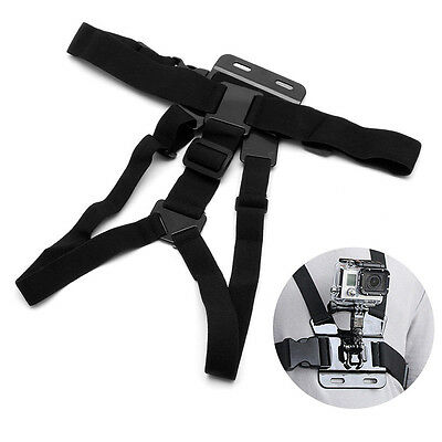 Adjustable Body Strap Chest Belt Mount Harness For GoPro Hero 4/3+/3/2/1 Camera