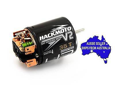 Hackmoto 35T brushed motor for 1:10 RC Crawlers & Trucks suit Axial Vaterra Losi