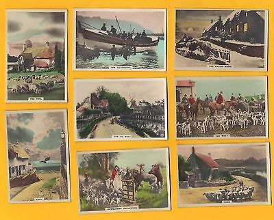 Original Cavanders Cigarette Cards - CAMERA STUDIES - 1926 - Hand Coloured