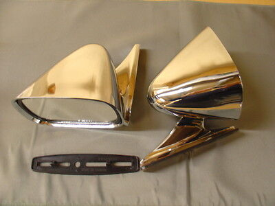 New Mazda Mx5 Miata Eunos  Chrome Racing Mirror Pair