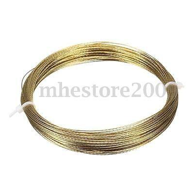 25m Gold Car Vehicle Windscreen Window Glass Cutting Out Braided Removal Wire