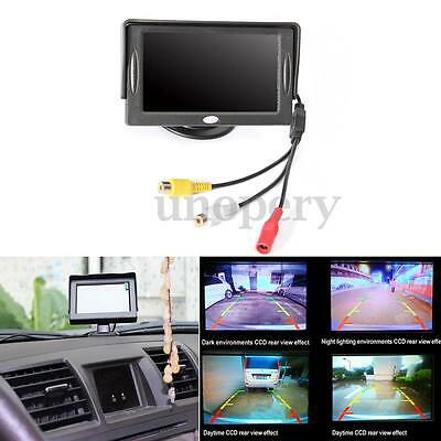 4.3 Inch HD Digital Monitor TFT LCD Color Screen For Car Reverse Rearview Camera