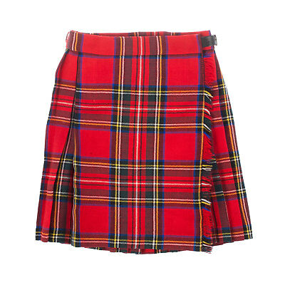 Heritage of Scotland Girls Wool Tartan Kilt Made In Scotland