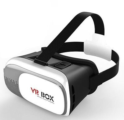 3D VR Box Virtual Reality Glasses Goggles Helmet Headset Samsung iPhone Android
