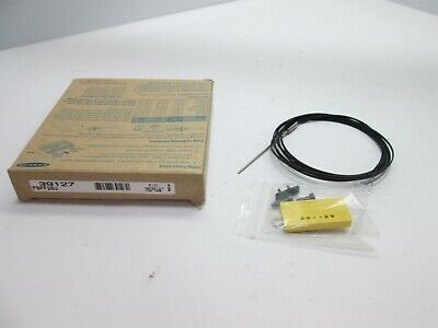New In Box Banner PBPF26U Fiber Optic Sensor, End Size: M4/1.65mm/1.27mm