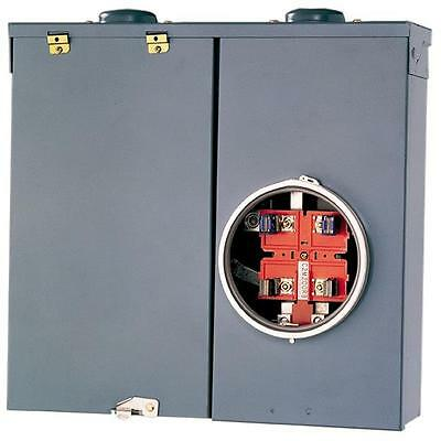 Square D QO 200-Amp 240V Surface Mount Rainproof CSED Meter Breaker Panel