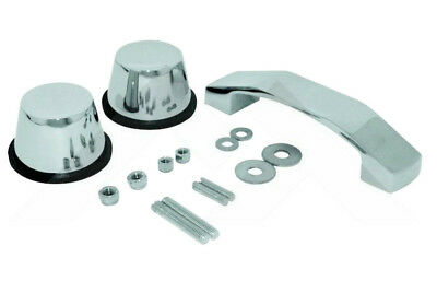 Windshield Tie Down Kit Stainless for Jeep Wrangler JK 07-18 RoughTrail RT34097