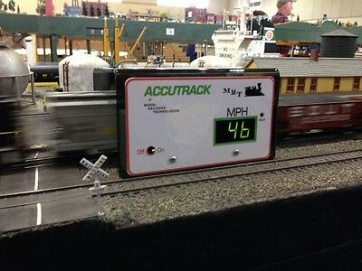 NEW! MRT Accutrack II Model Railroad Speedometer Now for KPH ! Bob The Train Guy