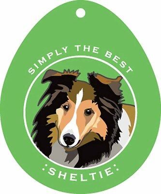 Sheltie Sticker 4×4″