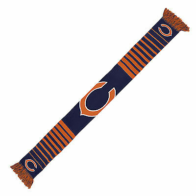 Chicago Bears Scarf Knit Winter Neck NEW - Big Logo - Team Colors