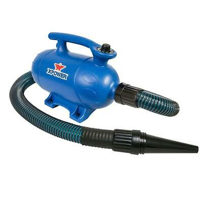 XPOWER B-4 3HP 120 CFM 10A Variable Speed 2-in-1 Pro Force Air Pet Dryer/Vacuum