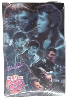 Elvis Presley 68 Comeback Special 3 D Holographic Poster (King Of Rock N Roll)