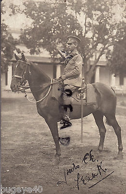 Soldier 2nd Dragoon Guards mounted on horse with sword etc