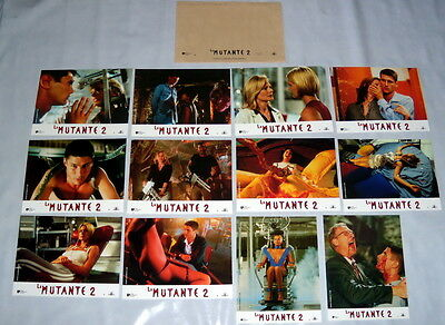 SPECiES 2  Natasha Henstridge Sci-fi Justin Lazard Aliens 10 FRENCH LOBBY CARDs