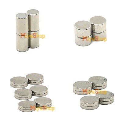 Multi-Size Super Strong Neodymium Round Disc Rare Earth N35 Fridge Magnets