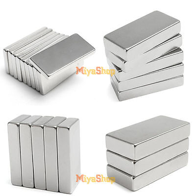 Super Strong Neodymium Block Square Magnet Rare Earth Neodymium Grade N35 New