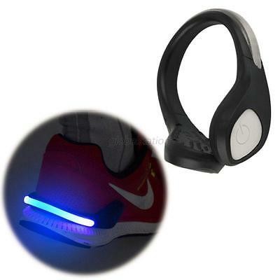 LED Outdoor Sports Light Shoe Clip Safety Warning For Night Running Bike Cycling