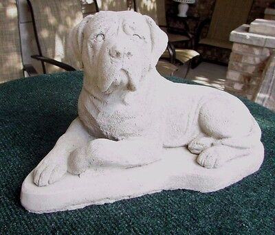 Concrete Mastiff Dog Statue Or Use As A Monument