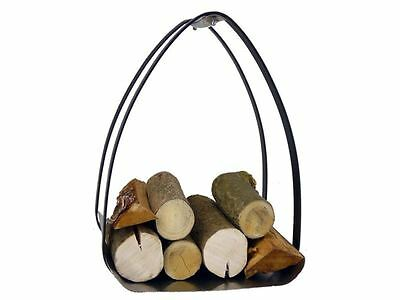 Manor Fireside Fireplace Fire Log Wood Storage Holder 0379