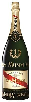 G.H. Mumm `Cordon Rouge` Champagne Brut NV (1 x 1.5L F-1 Edition), France