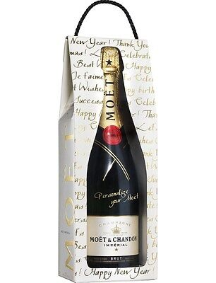 Moet & Chandon `Imperial` Calligraphie Champagne NV (6 x 750mL Giftboxed).
