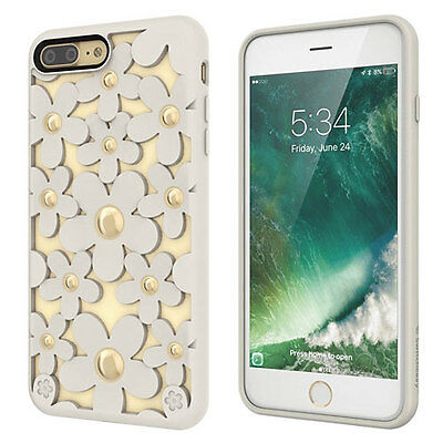 Switcheasy Fleur Tpu Hybric Protective Case For Iphone 7 Plus - Antique White