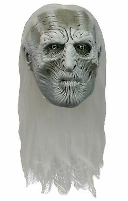 Officially Licenced Game of Thrones White Walker Full Latex Overhead Mask
