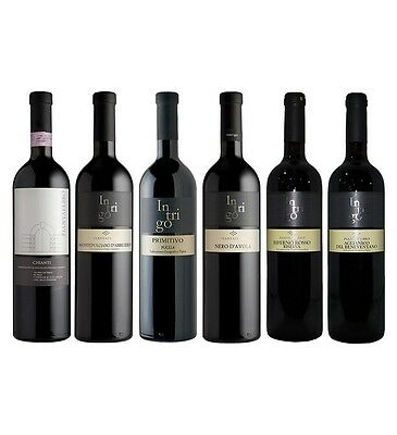 Piantaferro `Intrigo` Italian Wine Lovers Mixed Pack (6 x 750mL), Italy.