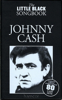 Johnny Cash The Little Black Songbook Guitar Chords & Lyrics Music Song Book