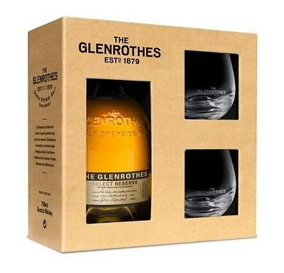 The Glenrothes 'Select Reserve' Gift Pack Whisky (6 gift packs per case).