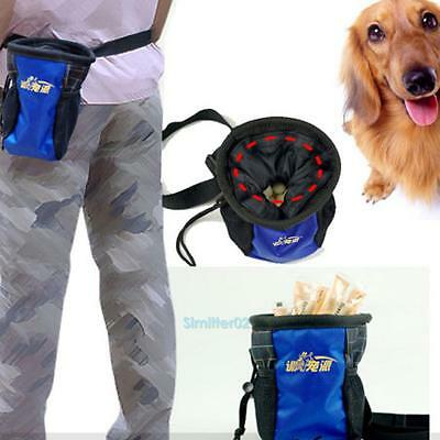 VS2# Puppy Dog Snack Obedience Agility Bait Training Bag Food Treat Pouch Holder