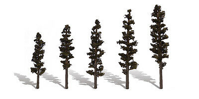 """Woodland Scenics Classic Trees, Standing Timber 2.5-4"""" (5) WOOTR3560"""