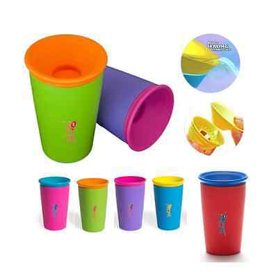 WOW Cup Toddler & Child Spill Free Drinking Sip Beaker BPA Free Training Cup