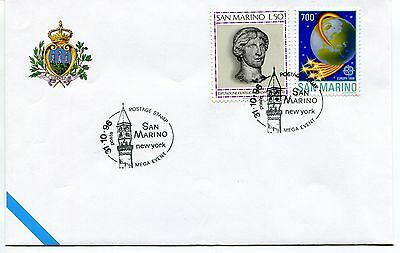 1996-10-31 San Marino New York Mega event ANNULLO SPECIALE Cover